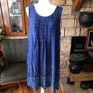 Sonoma size XLarge blue casual summer dress